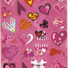 TM0300 Heart Removable A4 Sticker