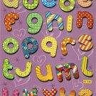 BLF1109A Letter Alphabet Removable A4 Sticker