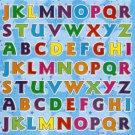 E104 Letter Alphabet Removable A4 Sticker