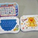 Mini Kid Bilingual English and Mandarin Laptop Educational Toy (Tiger Blue)