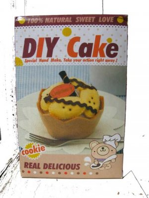 DIY plush cake mix version 2