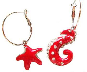 Seahorse & Starfishes By The Seashore