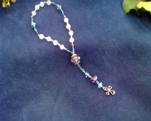 Blue and white Chaplet (Number two)