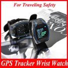 GPS Tracker Wrist Watch Gsm Surveillance Spy Tracking