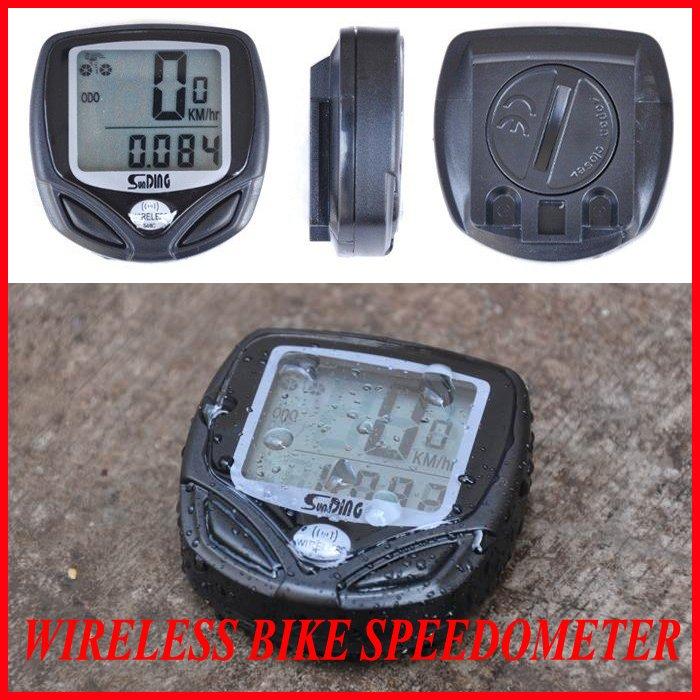 New Wireless Bicycle stopwatch Odometer Speedometer Bike cyclometers waterproof cycle computer