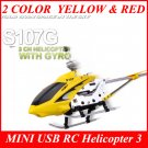 Syma S107G MINI USB RC Helicopter 3 CH GYRO RTF Metal