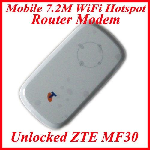 New Unlocked ZTE MF30 Mobile 7.2M WiFi Hotspot Router Modem