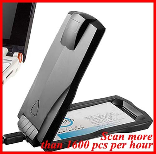 Portable Mini USB Business Name ID Card Scanner Reader