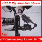 AS-XJWD61 DSLR Rig Shoulder Mount for DV Camera Sony Canon 5D 7D