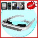 NW-VGAQ60 72 Inch Virtual Video Screen Glasses for iPhone iPad iPod