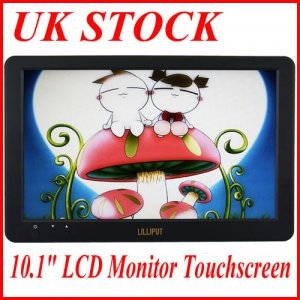 "CE21LED101 LILLIPUT UM1010T 10.1"" LCD Monitor Touchscreen with mini USB port"