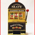 CH-GADG11 RecZone Casino Slot Machine Coin Bank /Jackpot Golden Slot Machine with Music/Voice