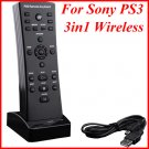 CH-PSTN04 3in1 Wireless Remote Controller Keyboard for Sony PS3