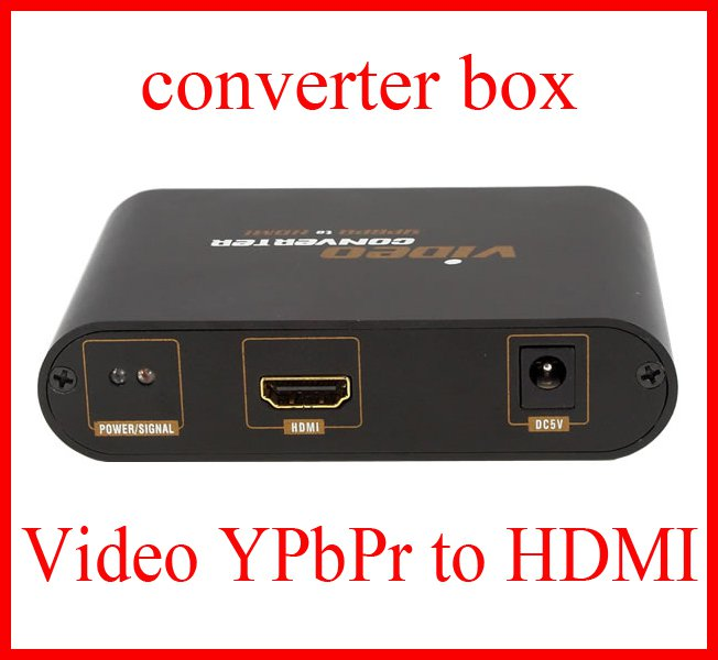 AL-LQGQ89 Video YPbPr to HDMI Converter PC to 1080p HDTV Adapter
