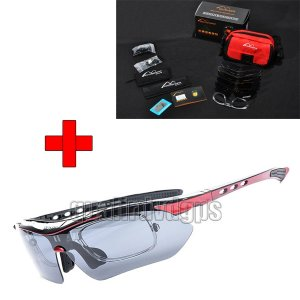 BO-GLAS05 New Cycling Bike Bicycle Sports Sunglasses Glasses With 5 Lens