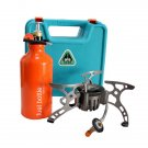 BO-TOOL19 BRS-8A Gas/Oil Multi-use Stove Metal Pump Upgraded Edition of BRS-8 Camping Stove