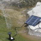 BH-SOLA04 Solar Power Fountain Water Pump Garden Plants Watering
