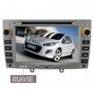 QL-PGT238 For Peugeot 308 308SW 408 GPS für I phone4 CAR DVD Navigation Radio 2DIN Ipod