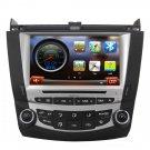 QL-ACD877-S Auto Radio For Honda Accord 2003-2007 Headunit DVD Player GPS Sat Navi Stereo