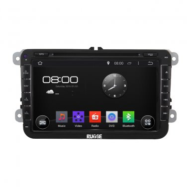 QL-VWG319 Free Canmera 4*50W Android 4.4 GPS Radio DVD For VW Golf Jetta Passat CC Polo