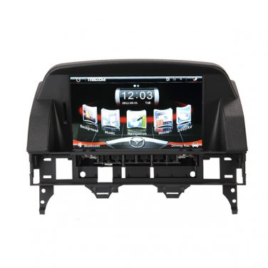 "CE91MZD610 New! 8"" Auto Navigation GPS Radio Headunit Stereo A2DP BT For MAZDA 6 2003-2014"