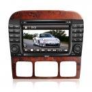 QL-BNZ600 New! Car GPS Navigation DVD Radio for 1999-2006 Mercedes-Benz S-class W220 W215