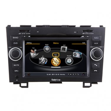 QL-CRV729 OEM Car DVD Player GPS Navigation In-dash Stereo Radio Bluetooth FOR HONDA CRV