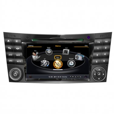QL-BNZ791 Auto Radio DVD Stereo GPS Navigation for Mercedes Benz E/CLS Class W211 W209
