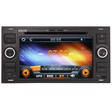QL-FCS805 For Ford Focus S-max Kuga Stereo Fusion GPS Sat Navi DVD Player Stereo Headunit