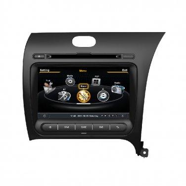 QL-KIA785 3G WIFI Ipod Auto Radio GPS SatNav Stereo DVD For 2012-2015 KIA K3 Cerato Forte
