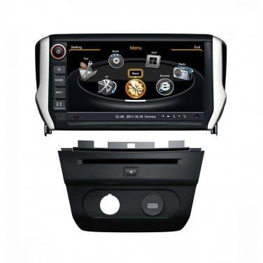 QL-PGT728 For 2014 Peugeot 2008 OEM Auto DVD GPS Navigation Stereo Radio Head-unit