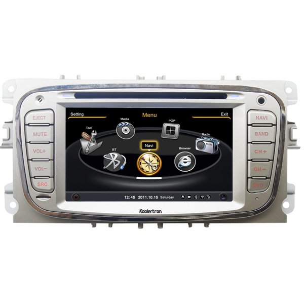 ql mdo713 car stereo for ford focus s max kuga mondeo gps. Black Bedroom Furniture Sets. Home Design Ideas