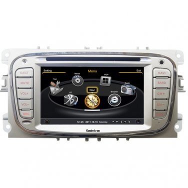 QL-MDO713 Car Stereo for Ford Focus S-max Kuga Mondeo GPS Navigation Autoradio Sat Nav DVD