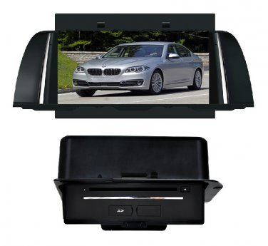 QL-BMW735 OEM Car DVD Player GPS Navigation Stereo Radio Head-unit For BMW 5 Series 2014