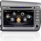 QL-CVC723 Car Stereo for Honda Civic GPS Navigation Satnav Radio Multimedia DVD Bluetooth