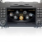 QL-BNZ778 Car Stereo GPS Navigation Radio for Mercedes Benz A B W169 W245 Viano Vito