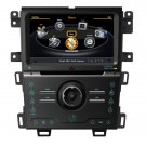 QL-FEG725 Auto Central Multimedia DVD GPS Navigation Stereo Headunit For 2013 Ford Edge