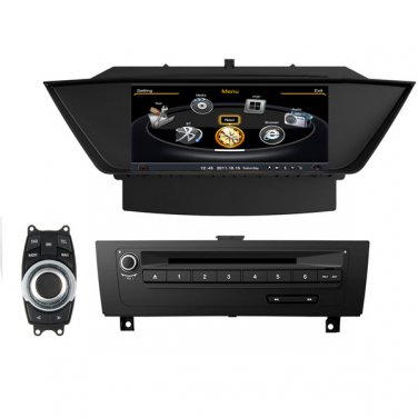 QL-BMW719 Auto Central Multimedia Radio GPS Navigation Stereo DVD For BMW X1 E84 2010-2014