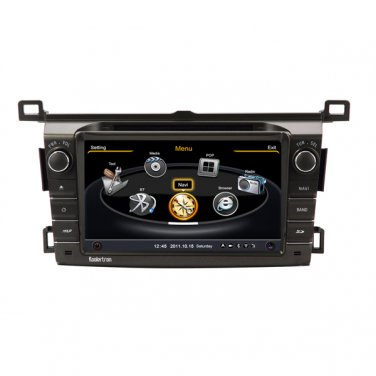 QL-RAV739 S100 3G/WIFI Car DVD GPS 3G Wifi RDS 20VCD Navigation Radio For Toyota RAV4 2013