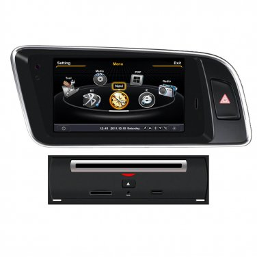 QL-ADI755 Dual Core Auto DVD Headunit GPS Navigation Stereo Radio For Audi Q5 2008-2012