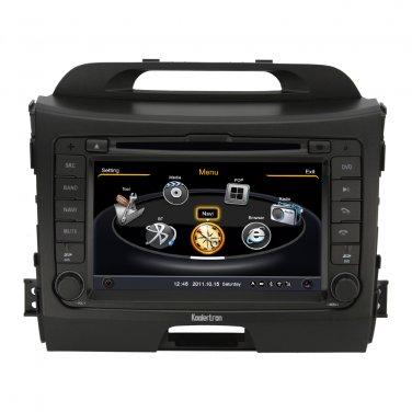 QL-SPT784 Car Stereo for Kia Sportage GPS Navigation Headunit DVD Player Bluetooth 3G WI