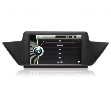 QL-BMW639 OEM Car GPS Navi SAT NAV DVD IPOD GPS Navigation Stereo for BMW X1 E84 2009-2013