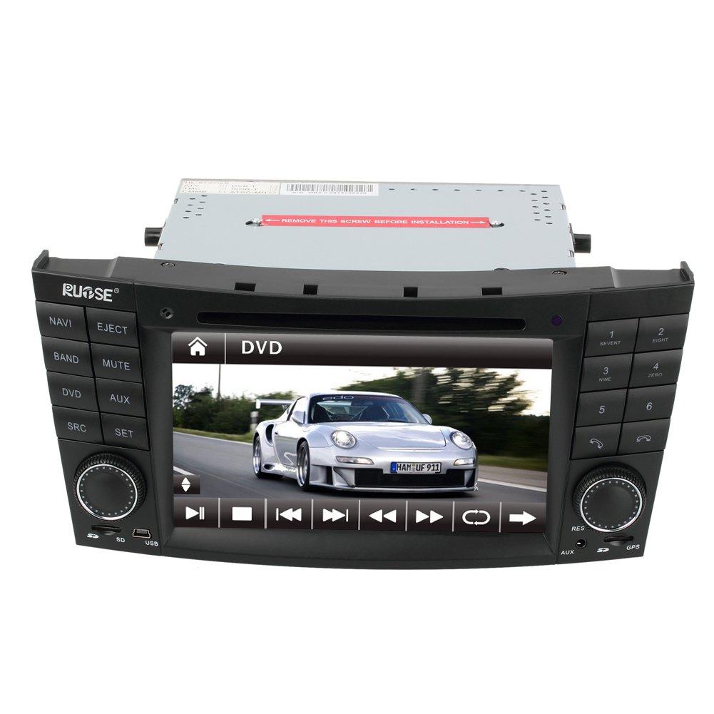 Ql bnz607 car gps navigation radio dvd stereo for mercedes for Mercedes benz navigation dvd