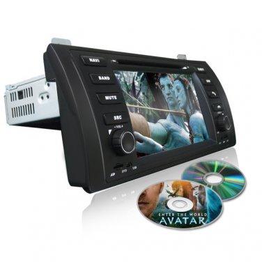 QL-BMW686 Car Stereo for BMW X5 E53 M5 5 Series E39 AutoRadio DVD GPS Sat Nav Navigation
