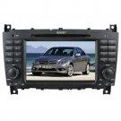 QL-BNZ631 DVD GPS Navigation Radio Stereo Headunit for Mercedes Benz C-Class W203/CLK W209
