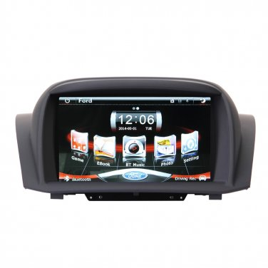CE91FTA753 New! Car Radio Stereo for Ford Fiesta GPS Navigation Headunit A2DP Bluetooth