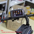 "MT11KIT168 5"" Waterproof 360 Motorcycle Bike Cycling GPS SAT NAV Case/Bag w/Mount Holder"
