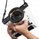 HE-DFFS01-MWW 20M Underwater Waterproof Case DSLR SLR For Canon 550D 5D2 7D 60D Nikon D700