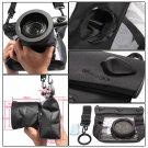 HE-DFFS01-MBK 20M Underwater Waterproof Case DSLR SLR For Canon 550D 5D2 7D 60D Nikon D700