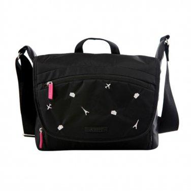 AS-NLBB01-BK KAMLUI 29x18x23CM Women waterproof DSLR Nylon Camera Shoulder Messenger Bag Case